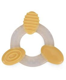 Mee Mee Silicone Teether - White and Orange
