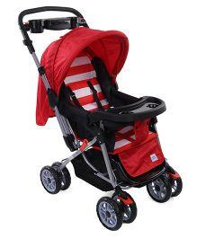 Mee Mee Stroller Cum Pram MM35 A - Red