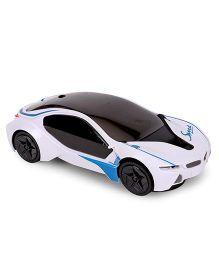 Smart Picks Bump & Go Racing Car 3D Light - White