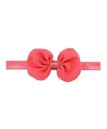 Angel Closet Beautiful Bow Headband - Coral