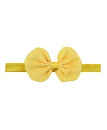 Angel Closet Beautiful Bow Headband - Yellow