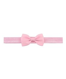 Angel Closet Small Bow Headband - Pink
