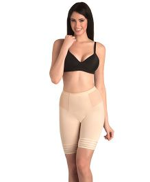 Swee Jade Low Waist & Short Thigh Shaper - Beige
