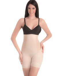 Swee Coral High Waist & Short Thigh Shaper - Beige