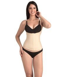 Swee Pearl Open Bust Tummy Cincher - Cream
