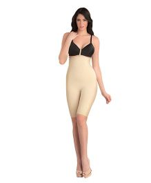 Swee Spark High Waist & Full Thigh Shaper - Cream