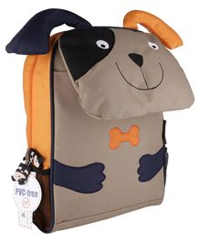 My Milestones Toddler And Kids Backpack Dog Brown - 13 inch