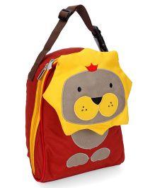 My Milestones Toddler Kids Lunch Bag Lion Design Brown Yellow - 9 inch