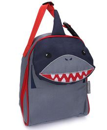 My Milestones Kids Lunch Bag Shark Design Blue - 9 inch