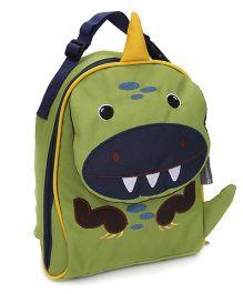 My Milestones Toddler Kids Lunch Bag Dino Design Green - 9 inch