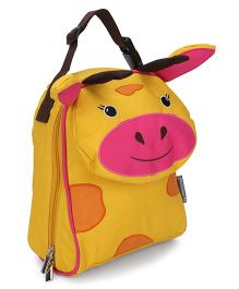 My Milestones Toddler Kids Lunch Bag Giraffe Design Yellow - 9 inch
