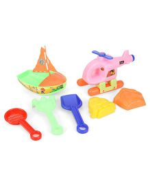 Negi Helicopter Beach Set - Pink