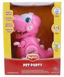 Mitashi Skykidz Pet Party Crocodile - Pink