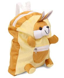IR Bunny Soft Toy Bag Beige - Height 12 inches