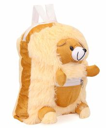 IR Teddy Soft Toy Bag Brown - Height 12 inch