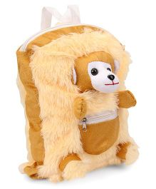 IR Bunny Soft Toy Bag Beige Cream - Height 12 inches
