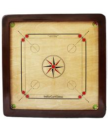 India Carromss Special Wooden Carrom Board - Brown