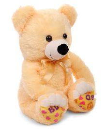 Liviya Teddy Bear Soft Toy Cream And Yellow - 53 cm