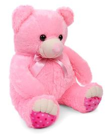 Liviya Teddy Bear Soft Toy Pink And White - 53 cm