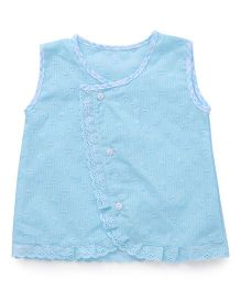 Chocopie Sleeveless Jhabla - Blue