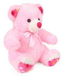 Liviya Sitting Teddy Bear Soft Toy Pink - 53 cm