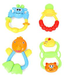 ToyFactory Rattle Set Pack Of 4 - Multicolor
