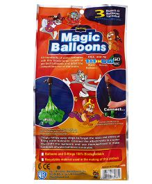 Tom And Jerry Magic Balloon Bunch Multi Color - 111 Pieces (Colors May Vary)