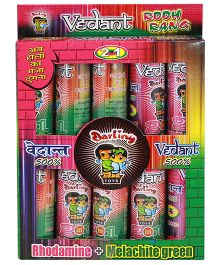 Vedant Holi Colour Pack Of 10 - Multi Color (Colors May Vary)