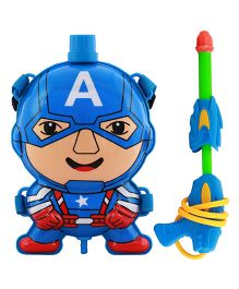 DealBindaas Water Gun With Tank Avengers - Multi-Color (Colors May Vary)