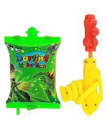 Ben 10 Water Gun With Tank - Multi-Color (Colors May Vary)
