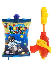 Tom And Jerry Water Gun With Tank - Blue (Colors May Vary)