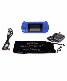 Mitashi Gamein Smarty V 1 Gaming Console - Blue
