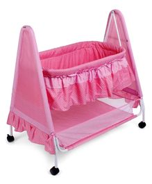 Babyhug Angel Dreams Cradle - Pink