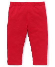 Beebay Capri Leggings Plain - Red