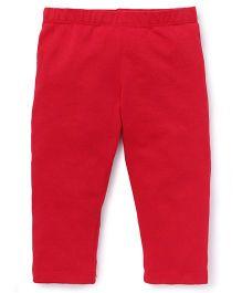 Beebay Capri Leggings Plain - Red