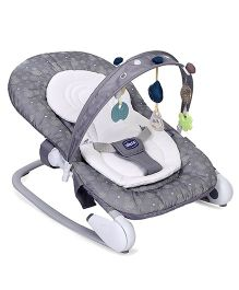 Chicco Hoopla Baby Bouncer Cum Rocker Stone - Grey White