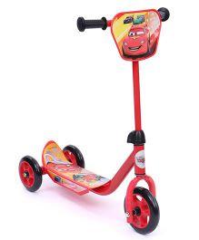 Disney Pixar Cars Three Wheeler Scooter - Red
