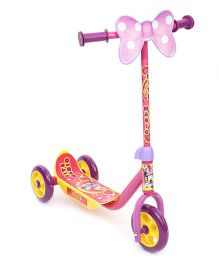 Minnie Mouse Three Wheeler Scooter - Pink