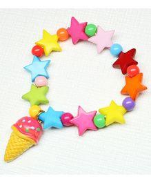 Asthetika Ice Cream & Stars Bracelet - Multicolour