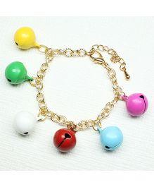 Asthetika Bells Chain Bracelet - Multicolour