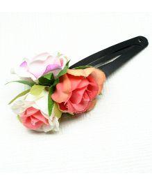 Asthetika Flower Tic Tac Hair Clip - Multicolour