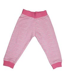 Kadam Baby Striped Ribbed Pajama - Pink