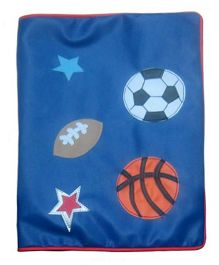 Kidzbash Folder Sports Theme - Dark Blue