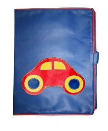 Kidzbash Folder Car Patch - Red & Blue