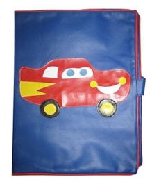 Kidzbash Folder Macqueen Car Patch - Red & Blue