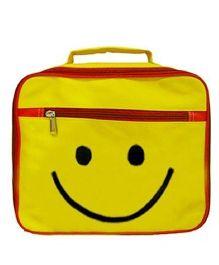 Kidzbash Lunch Box Bag Smiley - Yellow