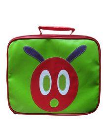 Kidzbash Lunch Box Bag Caterpiller - Green
