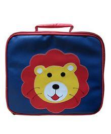 Kidzbash Lunch Box Bag Lion - Blue