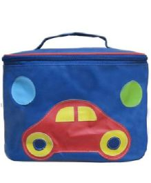 Kidzbash Travel Pouch Car Design - Blue
