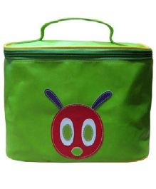 Kidzbash Travel Pouch Caterpiller Design - Green